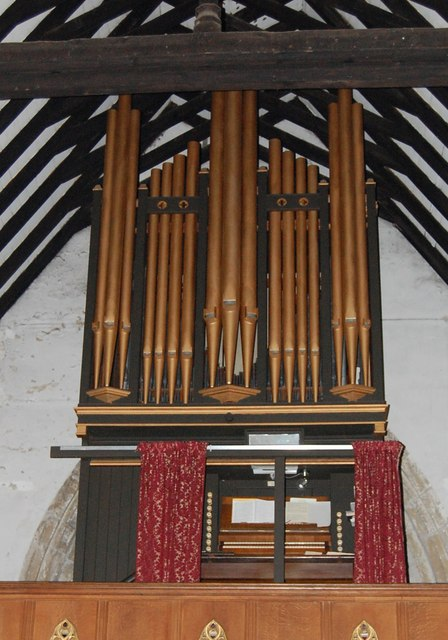 Organ in St George's Church, Brede