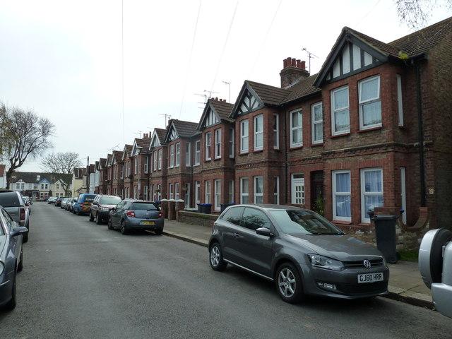 Mock tudor gables in St Anselm's Road