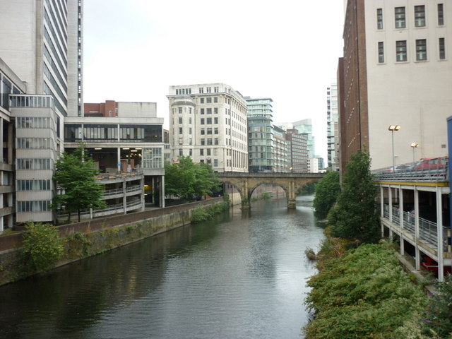 The River Irwell, Manchester