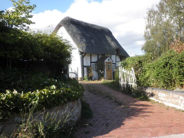 Thatched cottage, Bogmarsh