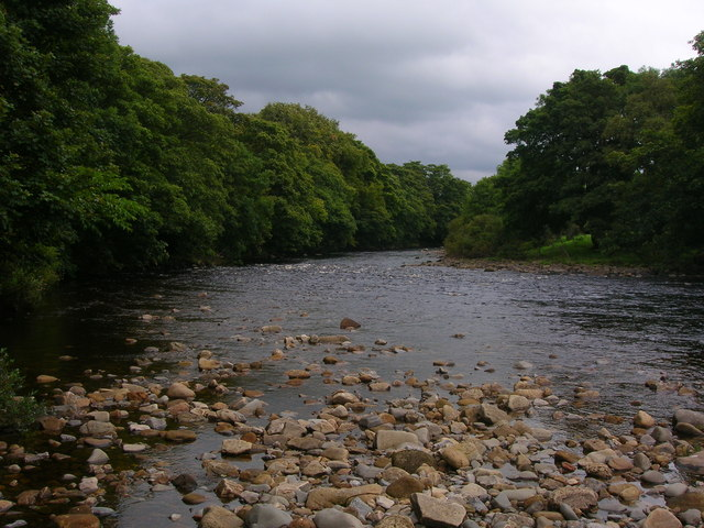 River Tees south of Middleton