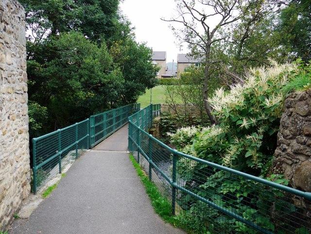 Footbridge over Waskerley Beck