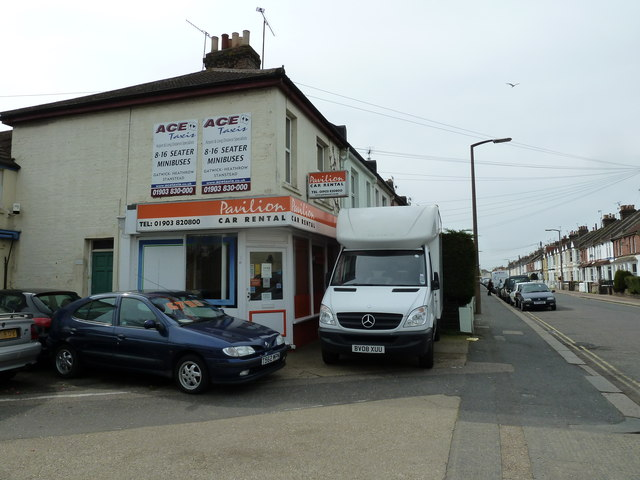Car rental offices in Becket Road