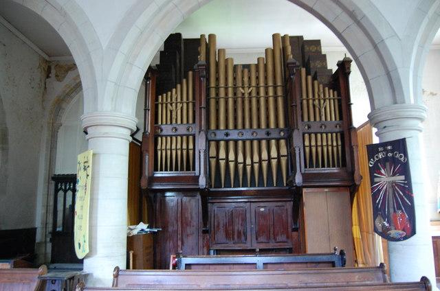 Organ in St Mary's Church, Northiam