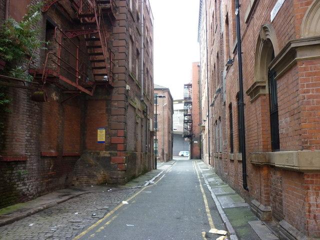 Thorniley Brow off Dantzic Street, Manchester