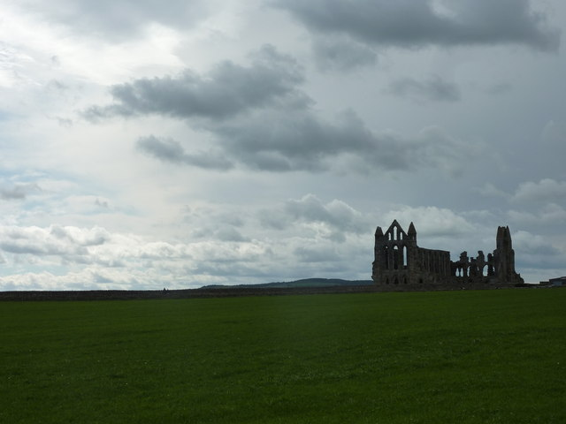 Late afternoon at Whitby Abbey