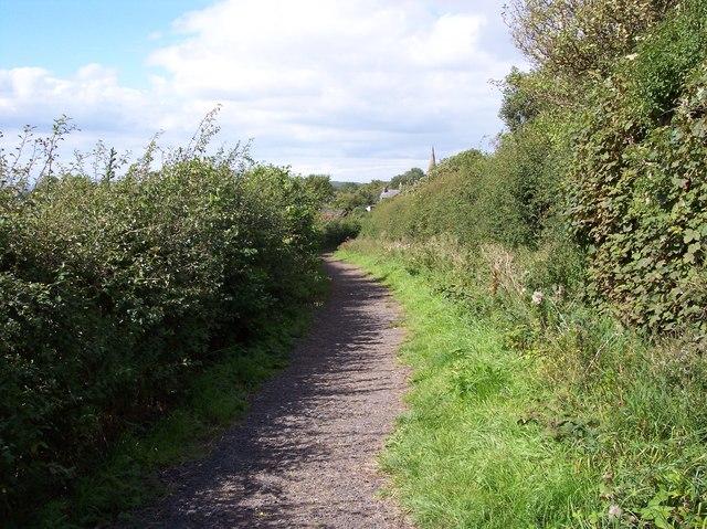 The path into Thurstaston