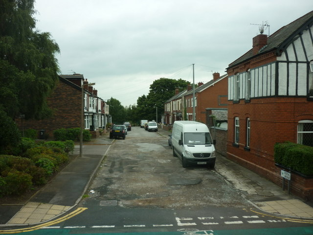Kersal Avenue off Bolton Road