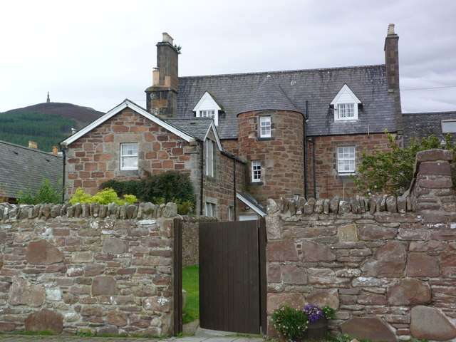 Turreted house in Golspie
