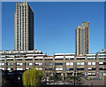 TQ3281 : Barbican, Silk Street (3) by Stephen Richards