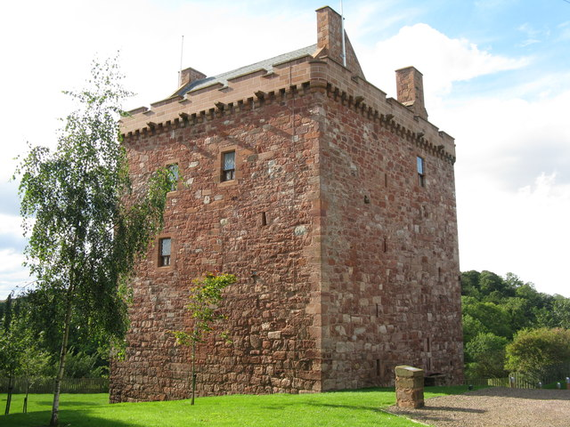 Stoneypath Tower - restoration complete