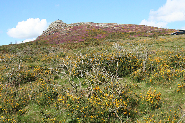 Ilsington: beneath Haytor Rocks