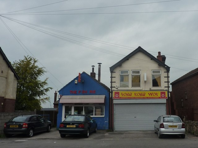 Chippy and take-away, Mansfield Road, Alfreton