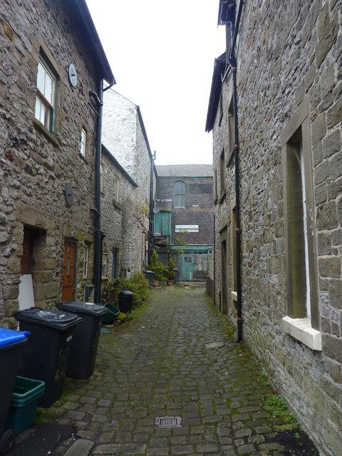 Alleyway, Buxton