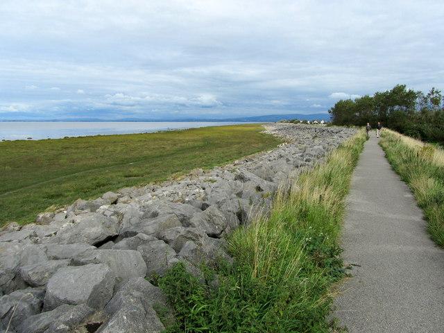 Coastal Path near Pilling Lane