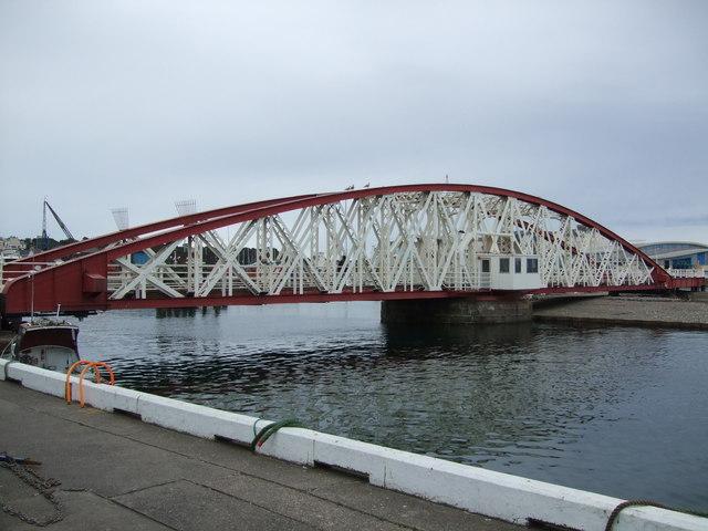 Swingbridge Ramsey Harbour