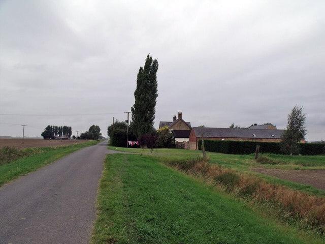 Delph Farm, Timberland drove