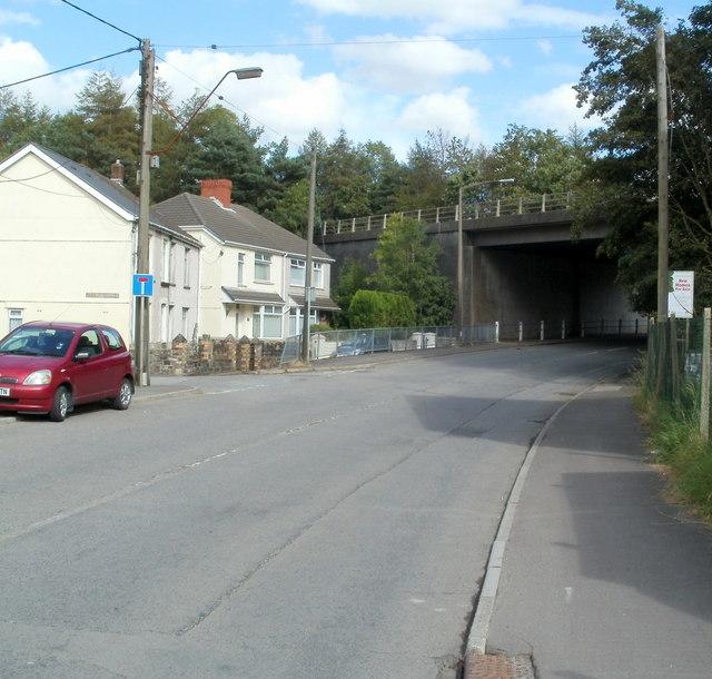 A465 bridge over Aberdare Road, Glynneath
