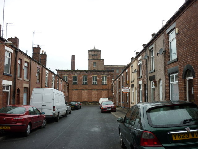 Vincent Street, Gilnow, Bolton