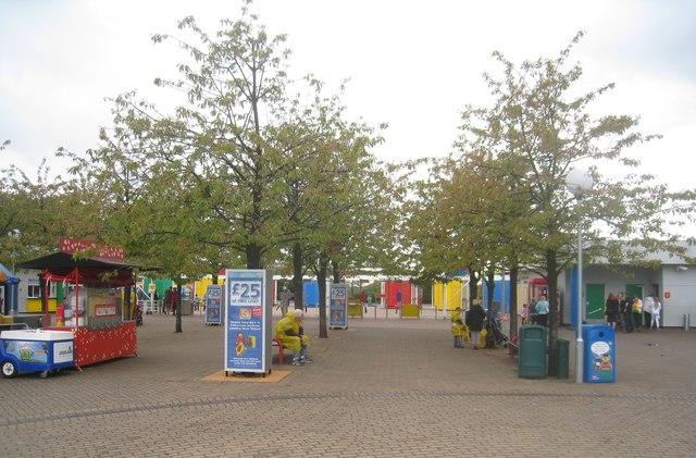 Exit / entrance - Legoland