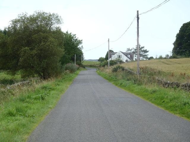 Roadside Cottage on the Penpont Road