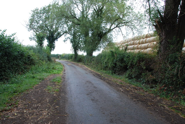 Road out of Marston, Staffordshire