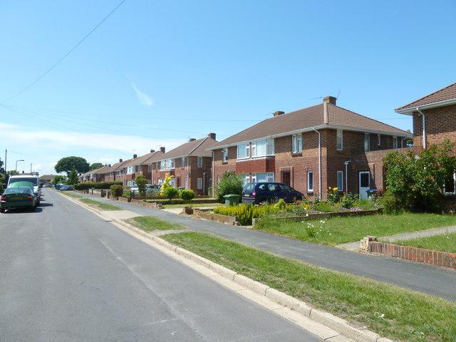 Houses in Wynton Way