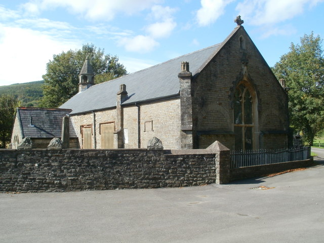 Grade II* listed Church of St Cadoc, Glynneath