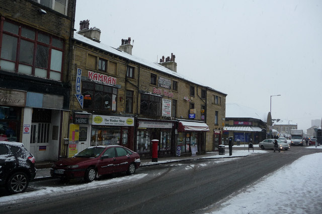 Shops on Union Street, Halifax
