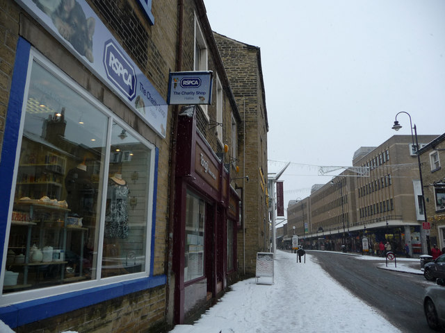 RSPCA charity shop - Union Street, Halifax