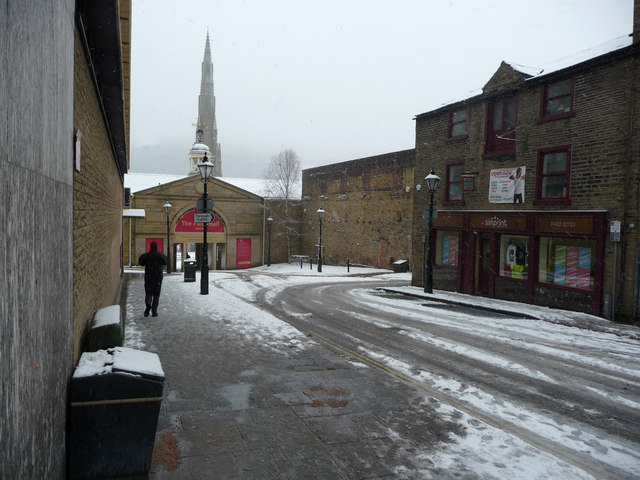 Westgate in the snow