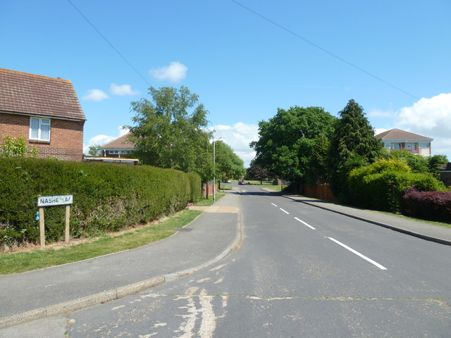 Looking from Hillson Drive into Nashe Way