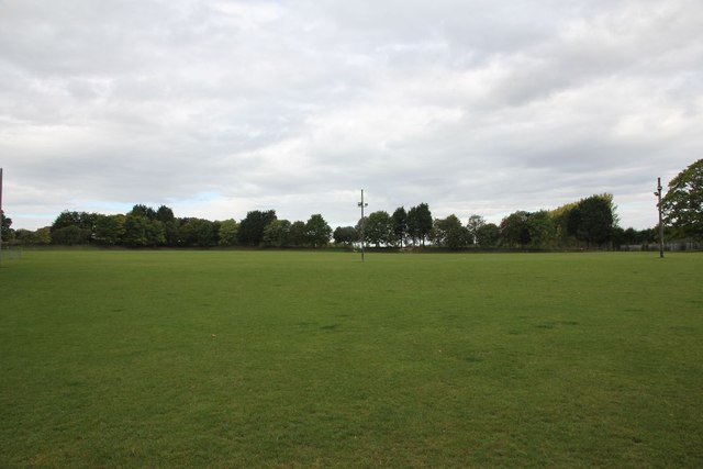 Sports field at Harwell