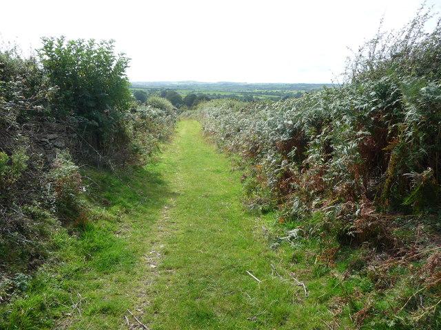 Footpath near Pentre Eirianell