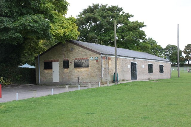 Pavilion at the sports ground