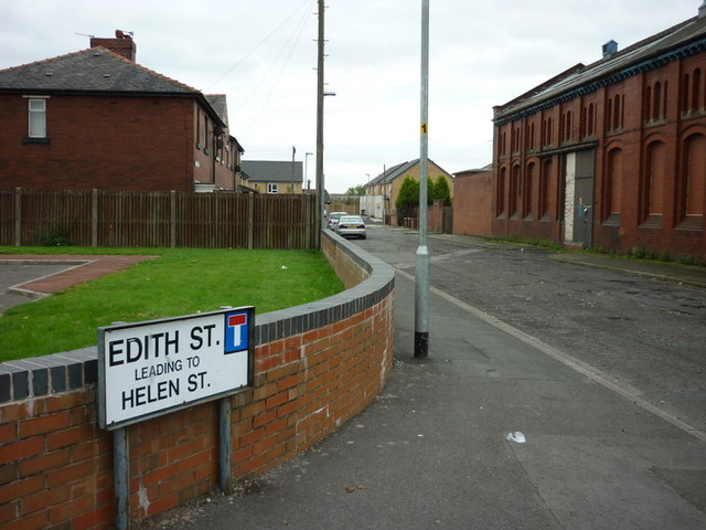 Edith Street, Farnworth