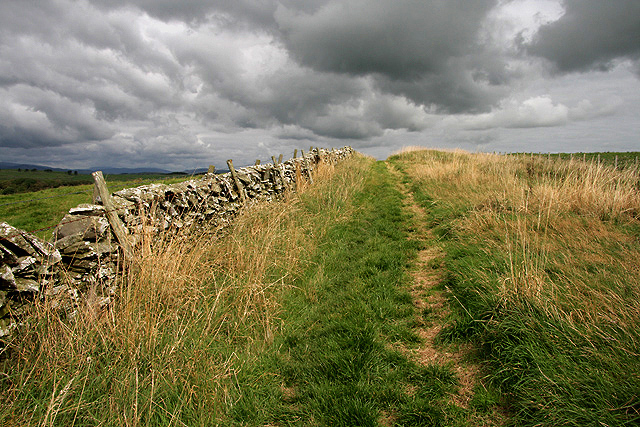 A footpath at Borness Bar
