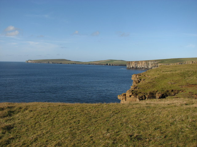 Coastline NW of Fitty Hill