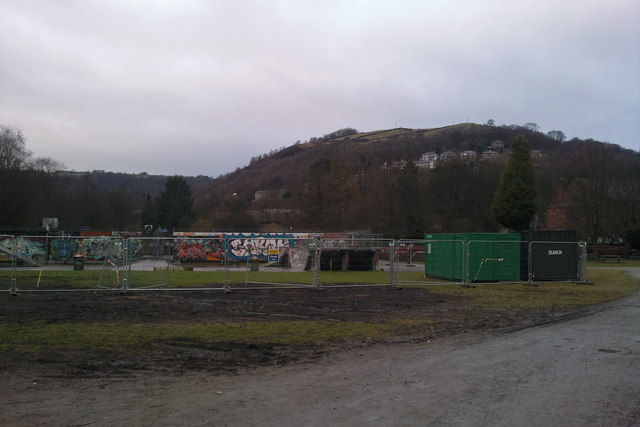 Re-developing the skate park at Calder Holmes Park, Hebden Bridge