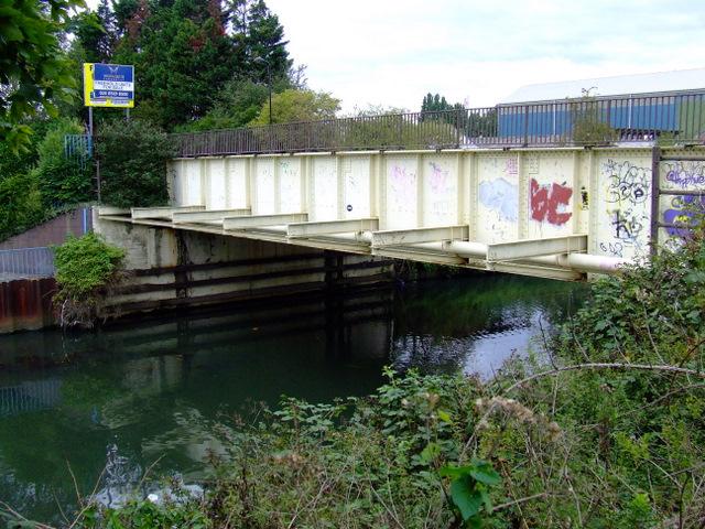 Bridge over the River Brent