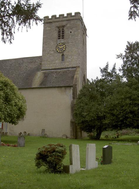 St Denys church tower