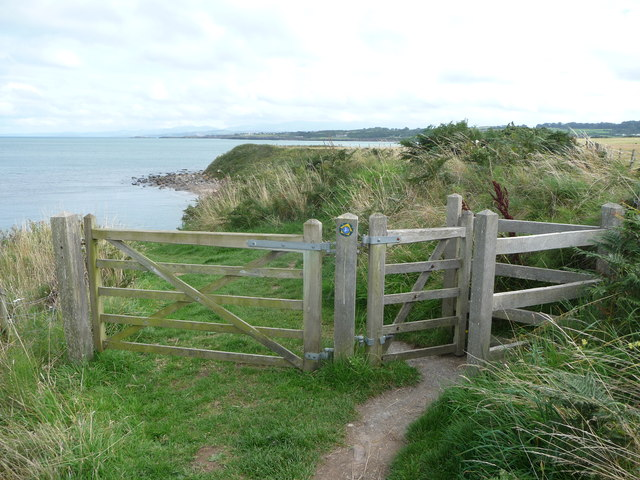 Kissing gate on the Isle of Anglesey Coastal Path