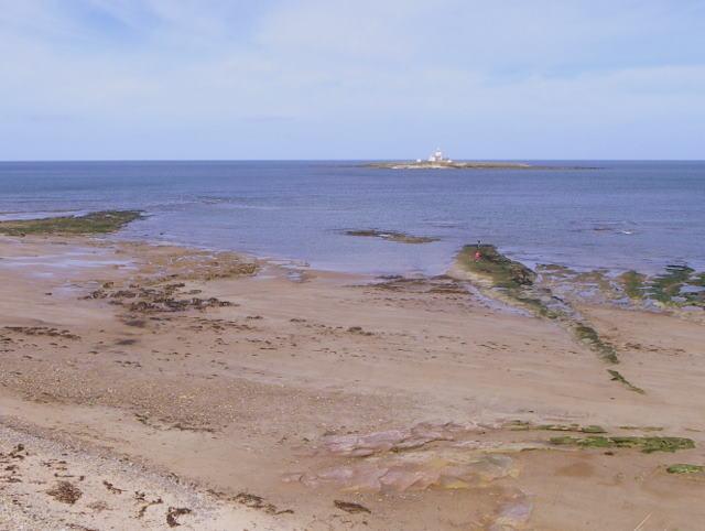 Rocks and sand, Hauxley