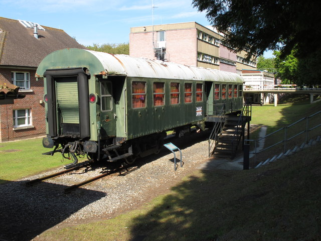 Ambulance train coach, Army Medical Services Museum
