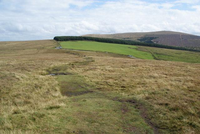 Path to Bwlch-gwynt
