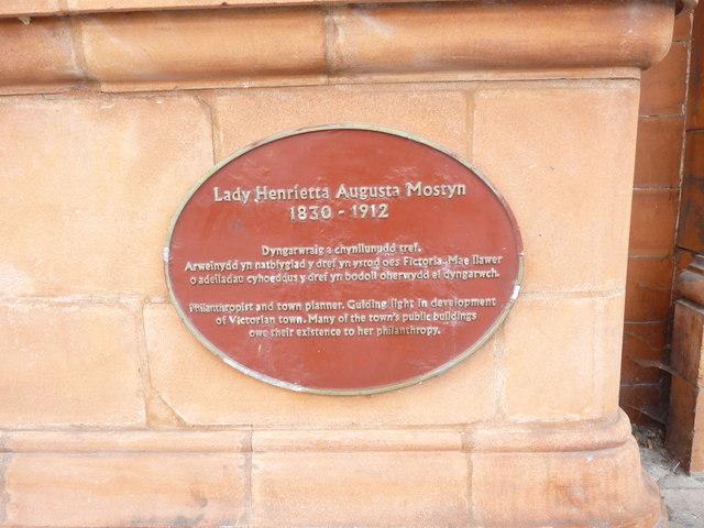 Lady Henrietta Augusta Mostyn 1830 - 1912, Llandudno