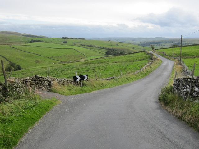 A sharp corner in Goat Lane