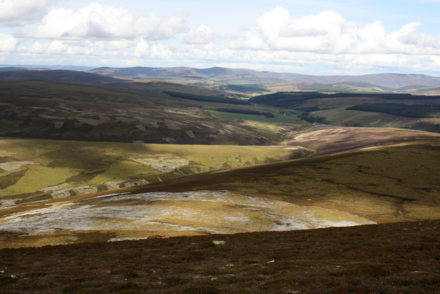 Moorland west of Beinn a' Chruinnich