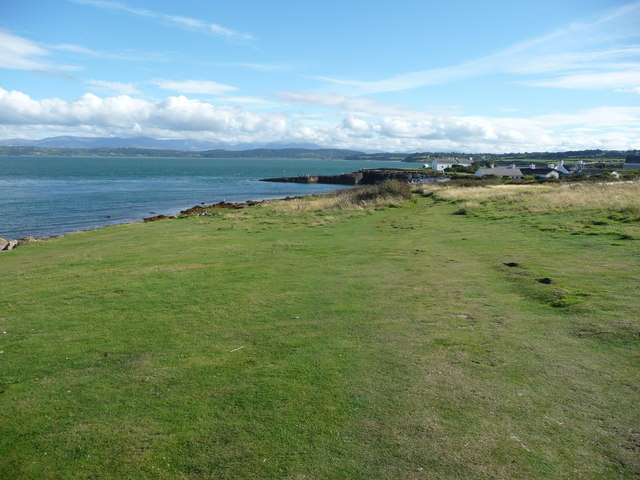 On the Isle of Anglesey Coastal Path north of Moelfre