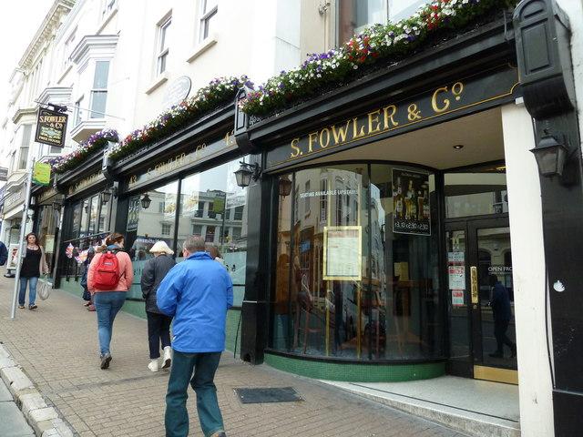Union Street- S Fowler & Co
